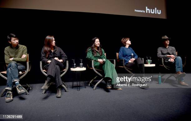 Director of 'Minding The Gap' Bing Liu director Alexandria Bombach of 'On Her Shoulders' filmmaker Elizabeth Chai Vasarhelyi of 'Free Solo' director...