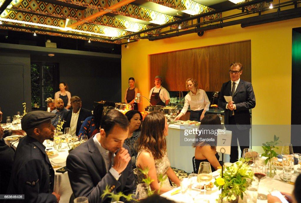 Andres Dinner Hamm moca s leadership circle and members opening of