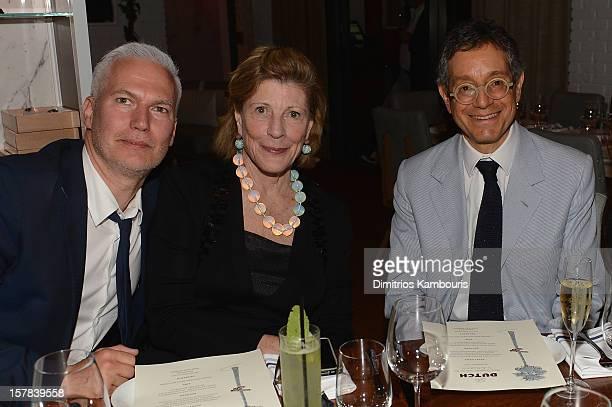 Director of MoMA PS1 Klaus Biesenbach President Emeritus of MoMA Agnes Gund and MOCA LA Director Jeffrey Deitch attend Aby Rosen Samantha Boardman...