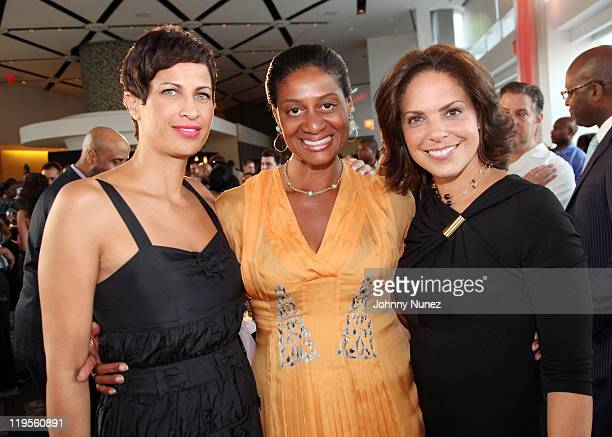 CNN Director of MultiCultural Sales and AdColor honoree Michele Thornton Nina Cooper and TV personality and host Soledad O'Brien attend ADCOLOR Live...