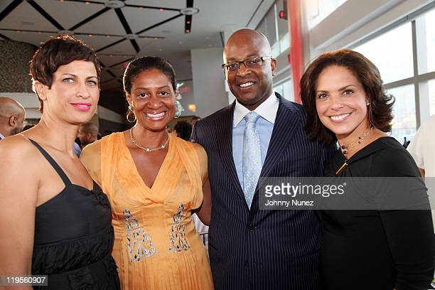 CNN Director of MultiCultural Sales and AdColor honoree Michele Thornton Nina Cooper PepsiCo Chief Consumer Engagement Officer Frank Cooper III and...