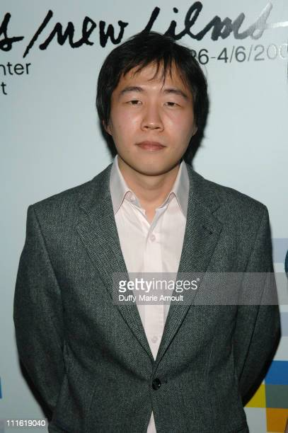 """Director of """"Munyurangabo"""" Lee Isaac Chung attends the 37th New Directors / New Films Series Opening Night of """"Frozen River"""", co-hosted by the Film..."""
