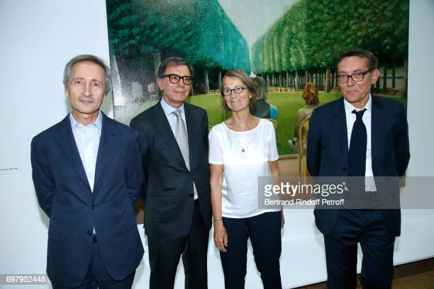 Director of Museum of Centre Pompidou Bernard Blistene President of Centre Pompidou Serge Lasvignes French Minister of Culture and Communication...