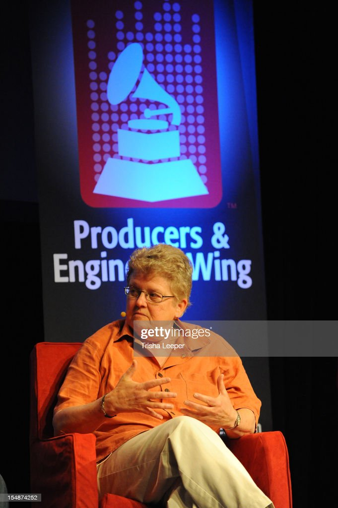 Director of Music & Recording for Skywalker Sounds Leslie Ann Jones attends the GRAMMY SoundTables: Sonic Imprints-Songs That Changed My Life at The Moscone Center on October 27, 2012 in San Francisco, California.