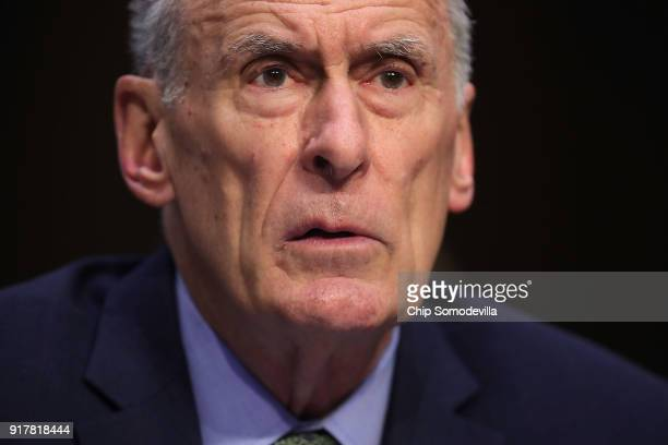 Director of National Intelligence Dan Coats testifies before the Senate Intelligence Committee in the Hart Senate Office Building on Capitol Hill...