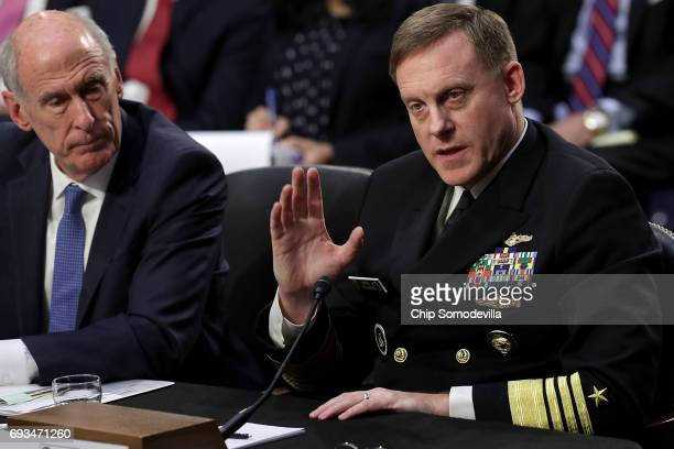Director of National Intelligence Daniel Coats and National Security Agency Director Adm Michael Rogers testify before the Senate Intelligence...