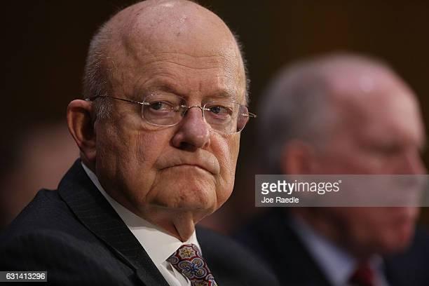 Director of National Intelligence James Clapper and Central Intelligence Agency Director John Brennan testify before the Senate Intelligence...