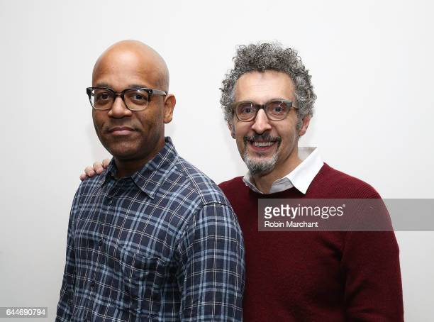 Director of NY Programs and Membership Academy of Motion Picture Arts and Sciences Patrick Harrison and actro John Turturro attends The Academy of...