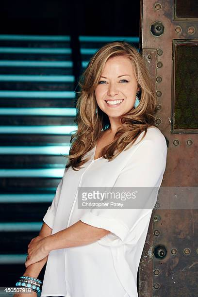 Director of original series for HBO Kathleen McCaffrey is photographed for The Hollywood Reporter on October 24 2013 in Hollywood California...