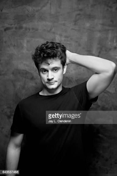Director of Photography Adam Uhl from the film Dina is photographed at the 2017 Sundance Film Festival for Los Angeles Times on January 24 2017 in...