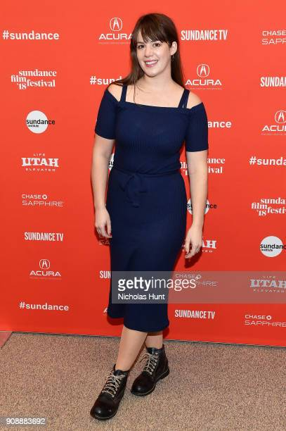 Director of photography Ashley Connor attends the The Miseducation Of Cameron Post And I Like Girls Premieres during the 2018 Sundance Film Festival...