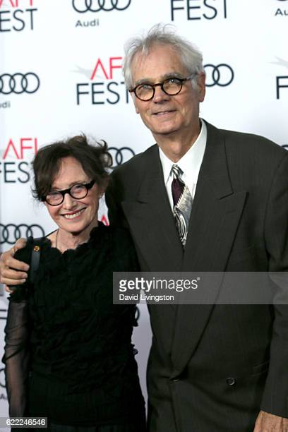 Director of photography Caleb Deschanel and Mary Jo Deschanelattends the premiere of Rules Don't Apply at AFI Fest 2016 presented by Audi at TCL...