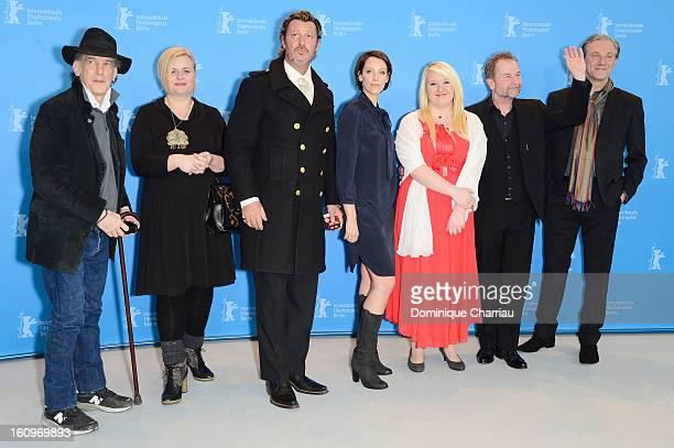Director of photography Ed Lachman screenwriter Veronika Franz actor Michael Thomas actresses Viviane Bartsch Melanie Lenz director Ulrich Seidl and...