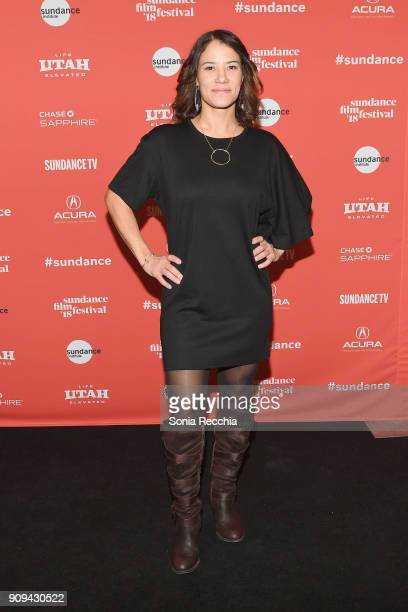 Director of Photography Soraya Selene attends the 'Half The Picture' Premiere during the 2018 Sundance Film Festival at Prospector Square Theatre on...