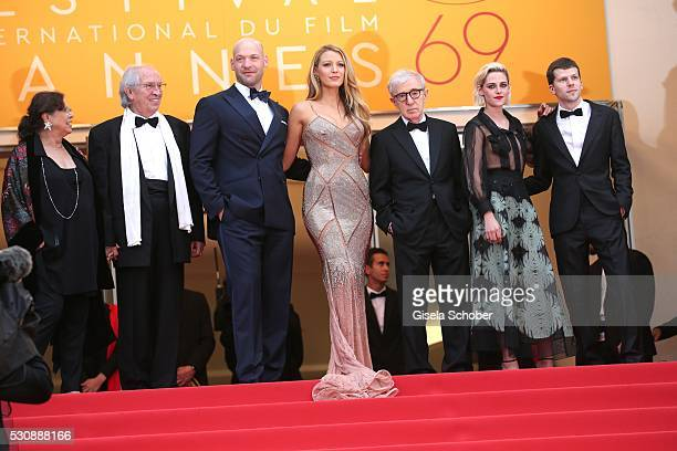 Director of photography Vittorio Storaro, actor Corey Stoll, actress Blake Lively, director Woody Allen, actress Kristen Stewart and actor Jesse...