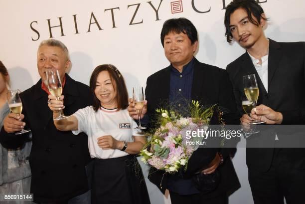 Director of photography Zhao Lei designer Wang Chen TsaiHsia from Schiatzy Chen director Huo Jian Qi from movie Ru Ying Sui Xin and actor Chen Xiao...