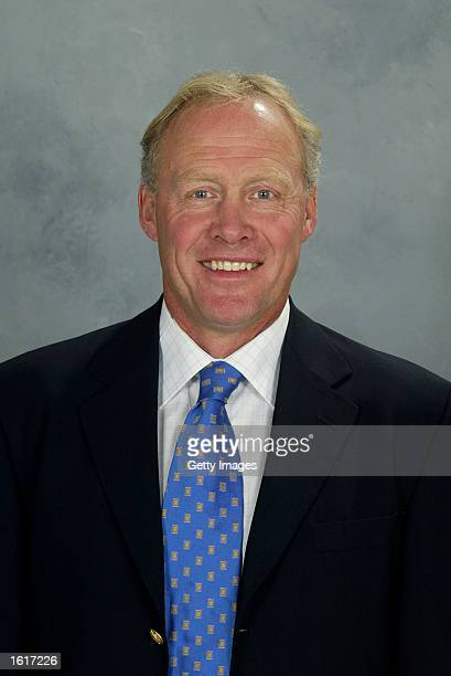 Director of Player Personnel Anders Hedberg of the Ottawa Senators poses for a portrait on September 1 2002 at the Corel Centre in Ottawa Canada