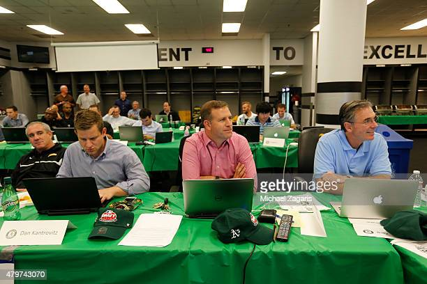 Director of Professional Scouting/Baseball Development Dan Feinstein Assistant General Manager Dan Kantrovitz and Assistant General Manager David...