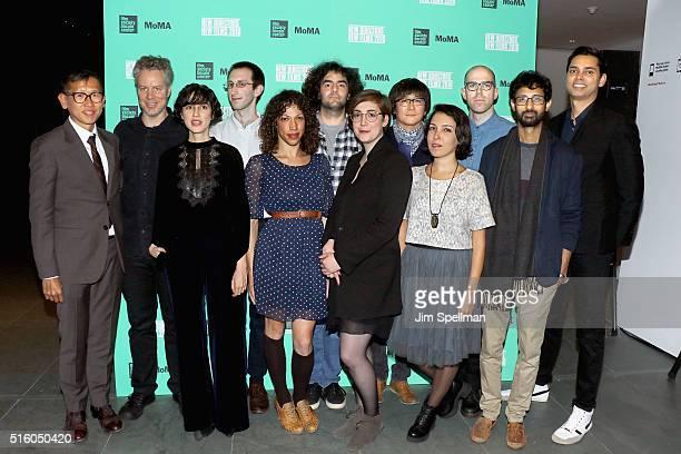 Director of programming at the Film Society of Lincoln Center Dennis Lim filmmakers Federico Veiroj Yaelle Kayam Ted Fendt TW Pittman Babak Anvari...