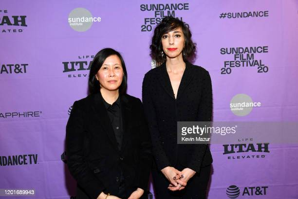 Director of Programming of the Sundance Film Festival Kim Yutani and Lana Wilson attend the Netflix premiere of Miss Americana at Sundance Film...