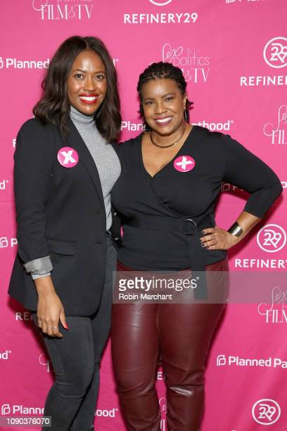 Director of Public Engagement PPFA Alencia Johnson and April Reign attend the Parenthood Federation Of America Planned Parenthood Association Of Utah...