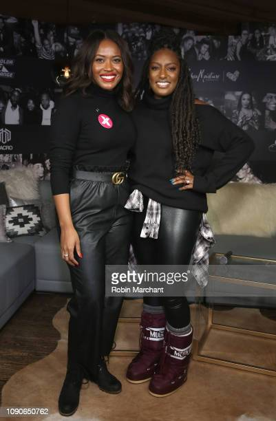 Director of Public Engagement PPFA Alencia Johnson and Stacey King attend Our Bodies Our Stories A Celebration Of Unstoppable Black Women at MACRO...