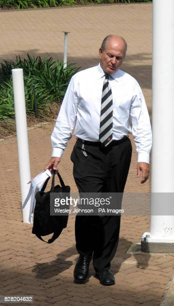 Director of Public Prosecutors Rex Wild QC arrives at the Northern Territory Supreme Court in Darwin Australia Monday October 31 2005 The forensic...