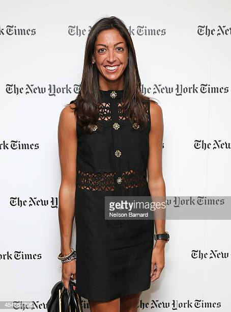 Director of Public Relations at Salvatore Ferragamo Trisha Gregory attends the New York Times Vanessa Friedman and Alexandra Jacobs welcome party on...