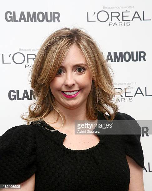 Director of Public Relations for L'Oreal Paris Mora Neilson attends the Glamour And L'Oreal Paris Celebration for the Top Ten College Women at The...