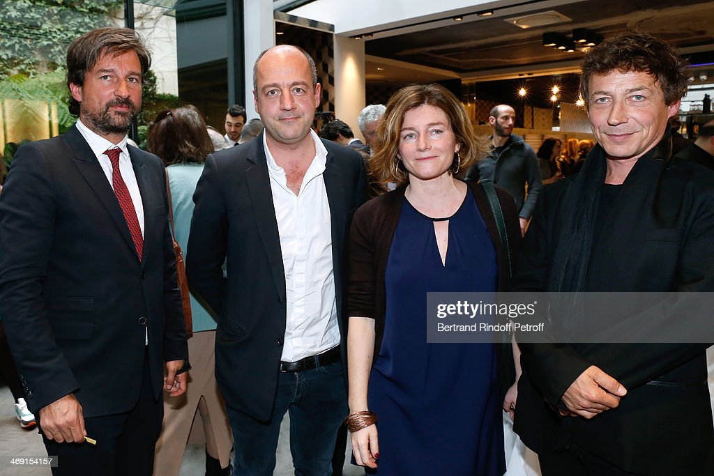 Prize Winning Ceremony For The 'Prix Jean-Luc Lagerdere Du Journaliste De L'Annee'