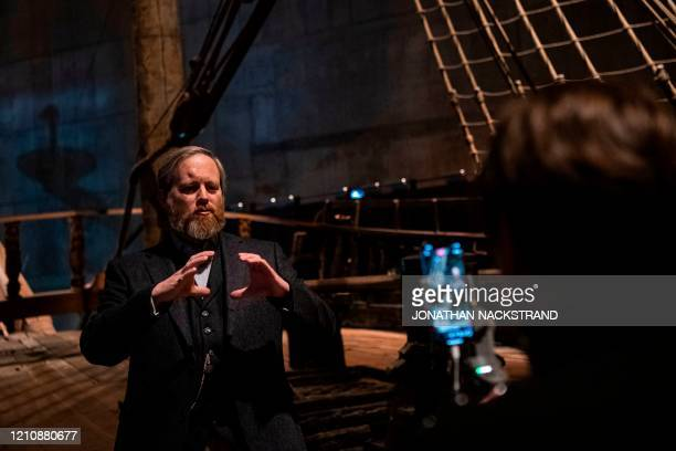 Director of Research at Vasa Museum, Fred Hocker, gives a live streaming guided tour on board the Swedish warship, talking about the salvage of Vasa,...