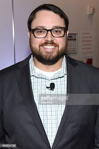Director of Research Brian West poses at the Unified Insights Understand the Future of TV Today panel during Advertising Week 2015 AWXII at the ADARA...