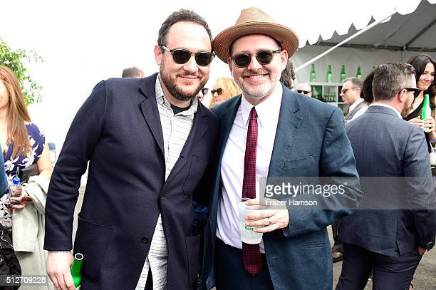 Director of Sales at Samuel Goldwyn Films Heath Shapiro and producer Morgan Neville attend the 2016 Film Independent Spirit Awards on February 27...
