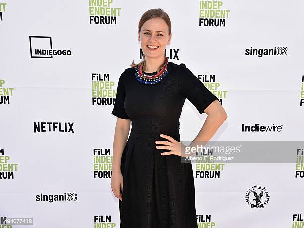 Director Of Sales At Xyz Films Mettemarie Katz Attends Day 1 Of The 11th Annual Film