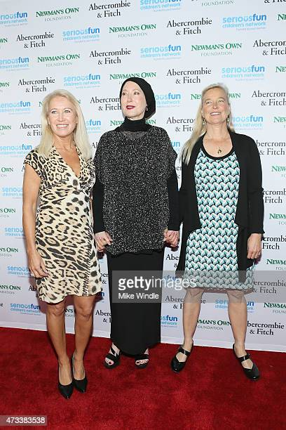 Director of Special Initiatives SeriousFun Children's Network Clea Newman Susan Newman and Nell Newman attend the SeriousFun Children's Network 2015...