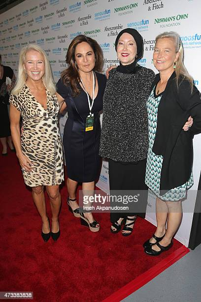 Director of Special Initiatives SeriousFun Children's Network Clea Newman Emily Wachtel Susan Newman and Nell Newman attend the SeriousFun Children's...