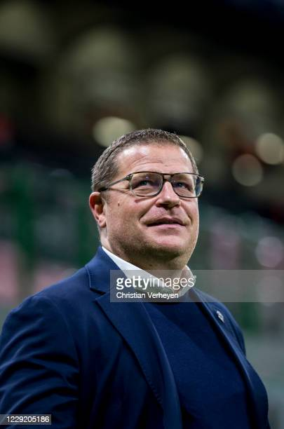 Director of Sport Max Eberl of Borussia Moenchengladbach is seen before the Group B UEFA Champions League match between FC Internazionale and...
