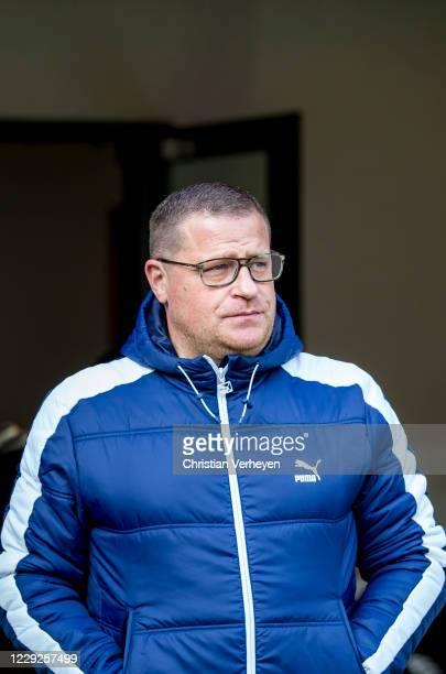 Director of Sport Max Eberl of Borussia Moenchengladbach is seen during the Bundesliga match between 1 FSV Mainz 05 and Borussia Moenchengladbach at...