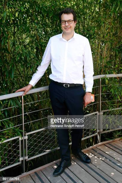 Director of Sports at 'France Television' LaurentEric Le Lay attends the 2017 French Tennis Open Day Five at Roland Garros on June 1 2017 in Paris...