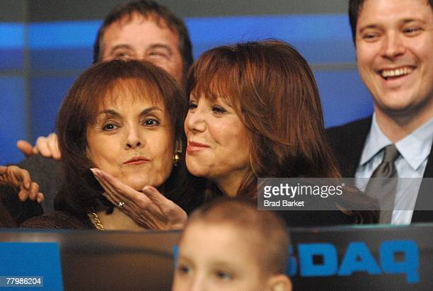 Director of St Jude Children's Research Terre Thomas and actress Marlo Thomas close the NASDAQ for St Jude Children's Research Hospital on the floor...