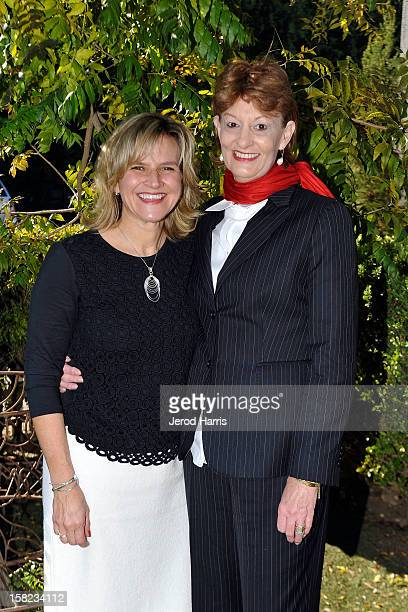 Director of Stewardship Donna Gadomski and Alexandra Denman attend the International Fund for Animal Welfare at a press conference urging consumers...