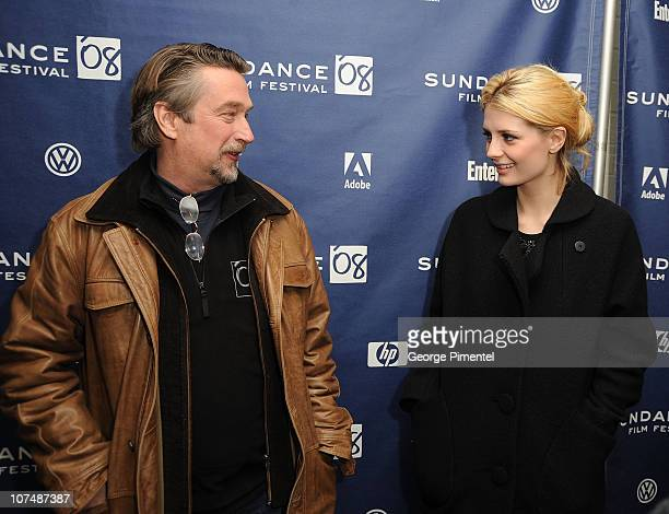 Director of Sundance Film Festival Geoffrey Gilmore and actress Mischa Barton attend a screening of Assassination of a High School President at...