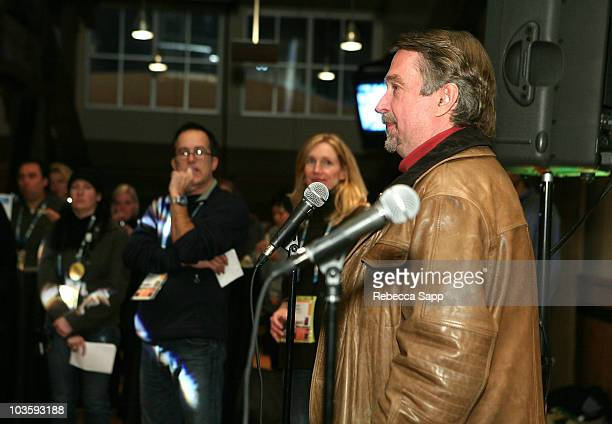 Director of Sundance Film Festival Geoffrey Gilmore and guests attend the Managers Social/Volunteer Staff Party during the 2008 Sundance Film...