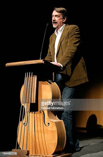 Director of Sundance Film Festival Geoffrey Gilmore attends the 2008 Sundance Film Festival Premiere of 'In Bruges' at Eccles Theatre on January 17...