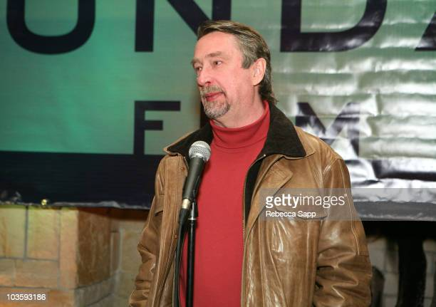 Director of Sundance Film Festival Geoffrey Gilmore attends the Managers Social/Volunteer Staff Party during the 2008 Sundance Film Festival at the...