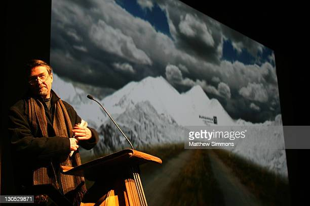 Director of Sundance Geoffry Gilmore attends the Transsiberian premiere during the 2008 Sundance Film Festival at the Eccles Theatre on January 18...
