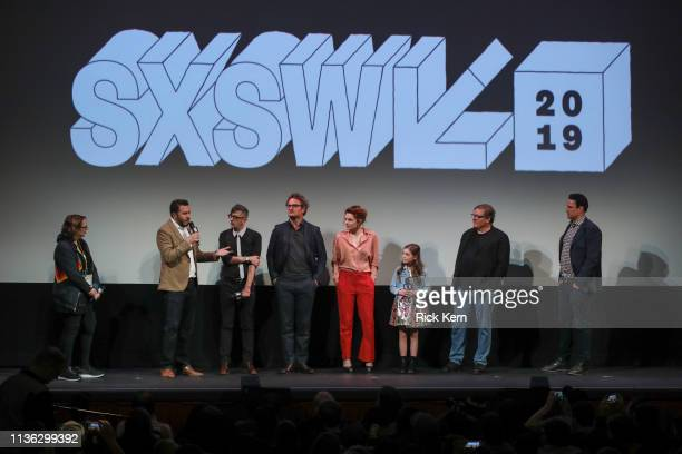 Director of SXSW Film Janet Pierson director Dennis Widmyer director Kevin Kölsch Jason Clarke Amy Seimetz Jeté Laurence producer Lorenzo di...