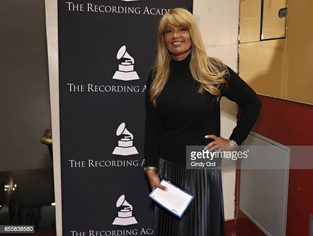 Director of Talent Industry Relations for SiriusXM Tracey J Jordan attends the GRAMMY Pro Songwriters Summit Women Making Music at The Apollo Theater...