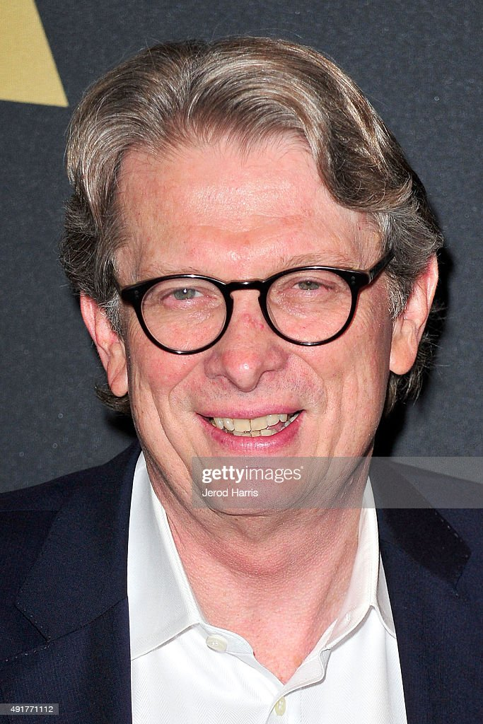 Director of the Academy Museum of Motion Pictures Kerry Brougher attends 'In The Labyrinth: A Conversation with Guillermo Del Toro' at Samuel Goldwyn Theater on October 7, 2015 in Beverly Hills, California.