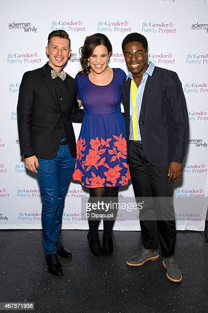 Director of the Ackerman Institute's Gender Family Project Jean Malpas Lindsay Mendez and Kyle Taylor Patrick attend the Ackerman Institute's Gender...